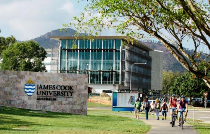 James Cook University building