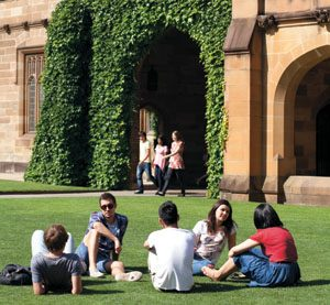 Image from University of Sydney offers Sydney Achievers International Scholarships