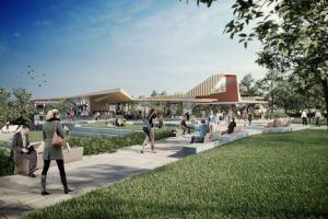 Image from Masterplan for Gold Coast campus