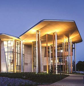 "Image from Bond University's Abedian School of Architecture named ""Public Building of the Year"""