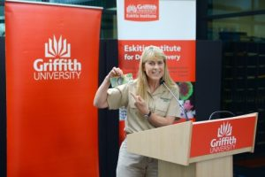 Image from Terri Irwin and Griffith University join fight against disease