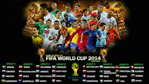 FIFA world cup groups