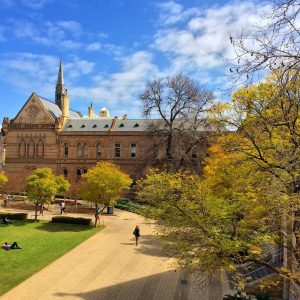 Image from 'University of Adelaide Ranked in Top 100 Universities Worldwide.'