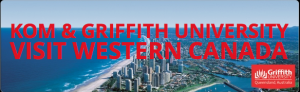 Image from Griffith University Western Tour