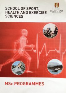 Image from 'Sport, Health & Exercise Science at Bangor'