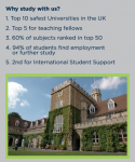 Scholarships at University of Gloucestershire