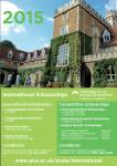 Scholarships in the UK