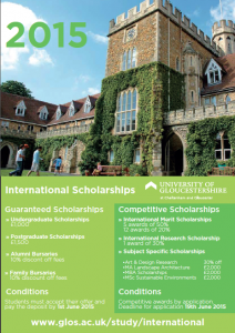 Image from Scholarships in the UK