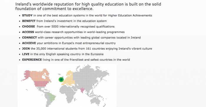 Image from Why Study in IRELAND eh?!
