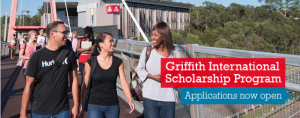 Image from Scholarships at Griffith University
