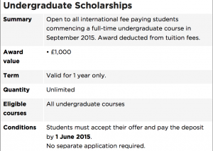 Image from Scholarship Deadline at Gloucestershire