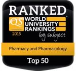 World University Rankings Top 50 Pharmacy