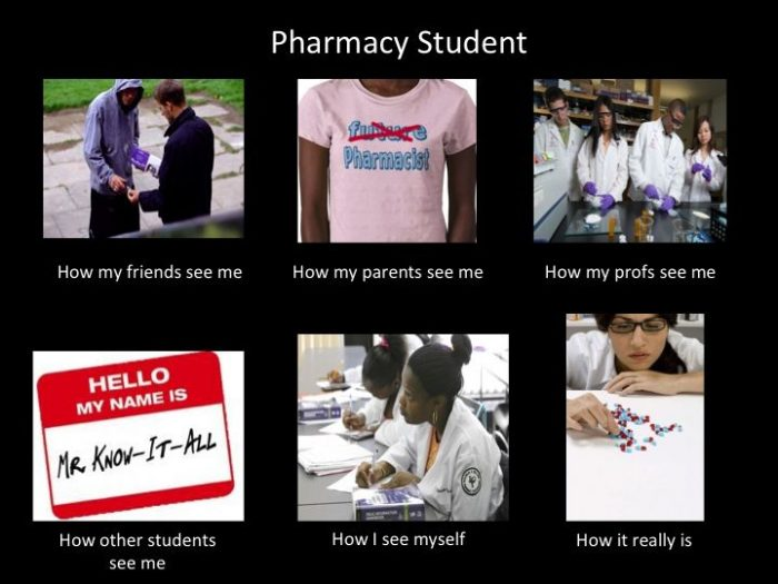 pharmacy student!