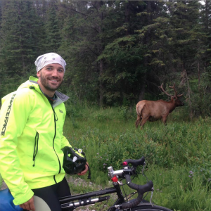 Image from Corey's Cross Canada Cycle For Sick Kids Hospital
