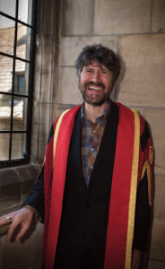 Image from 'Celeb Honoured During Bangor Uni Graduation Week'