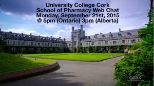 Image from Irish School Of Pharmacy Webinar