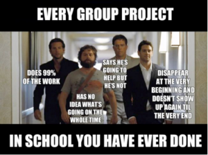 Image from 'How to Survive Group Work'