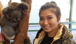 Canadian Andrea Luk travelled over 14,000km to study physiotherapy at Macquarie