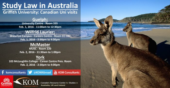 Study Law in Australia with Griffith University