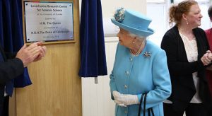HM the Queen opened the Leverhulme Research Centre for Forensic Science. Image courtesy of the University of Dundee