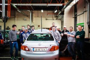 Image from Waterford Gets A Self-Drive Car Thanks To WIT Electronic Engineering Students