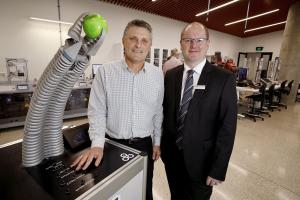 Image from ''Factory of the future' now open for business at Flinders University'