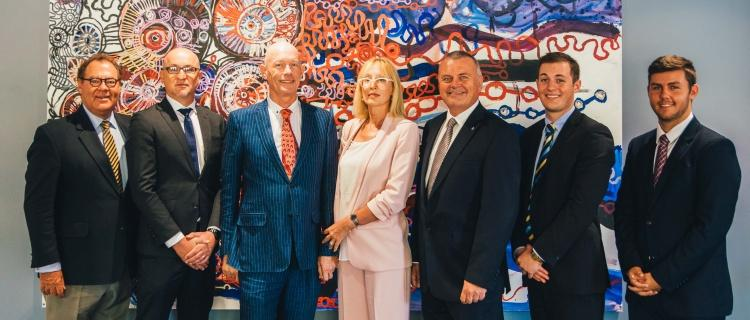 Bond Opens The Doors To Re-Designed Faculty Of Law - Group
