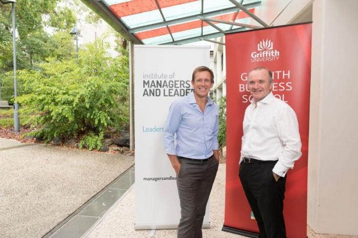 Image from Griffith University First In Australia To Offer Pathway To Chartered Manager
