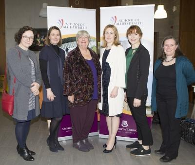 Image from Launch of University of Limerick's School of Allied Health