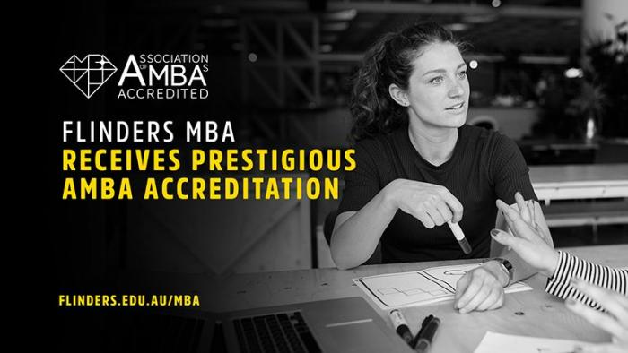 Image from Flinders University Means Business With Prestigious MBA Accreditation