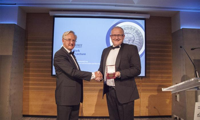 Image from RMIT University Leading Researcher Wins National Lifetime Award