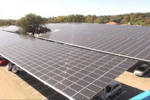 Image from Almost 6000 Solar Panels To Power Flinders University Campus