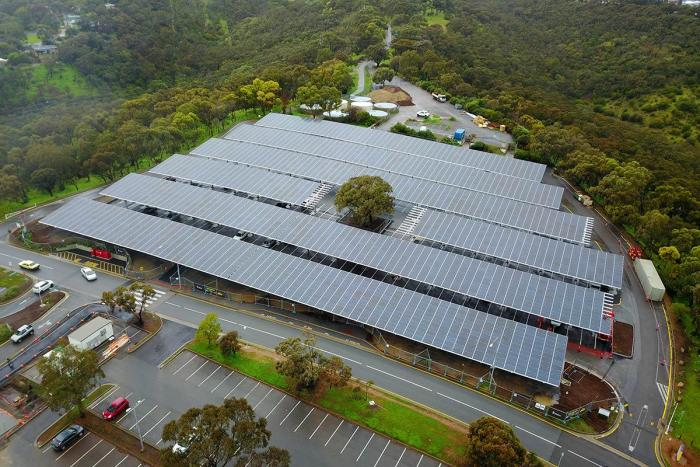 Almost 6000 Solar Panels To Power Flinders University Campus 2