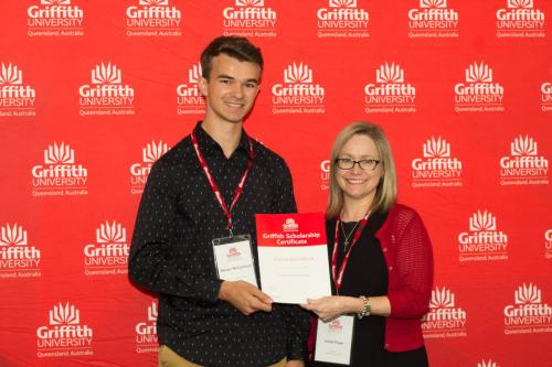 Griffith University Remarkable Scholarship - Keiran McCormick