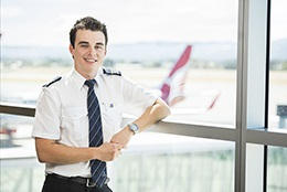 Image from 'QantasLink Partnership Offers New Flight Path For UniSA Aviation Grads'