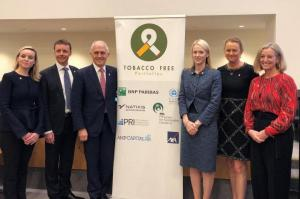 Image from Tobacco-Free Finance Pledge Signed by La Trobe University