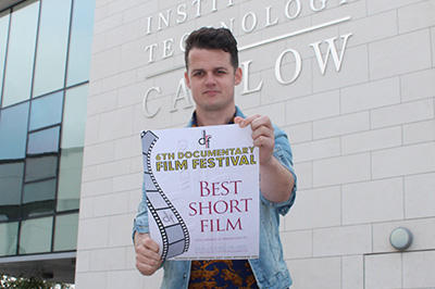 IT Carlow Student Film-Maker Receives Honours for Documentary Movie
