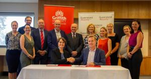 Image from Griffith University Renews Partnership with Queensland Airports