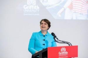 Griffith University Climbs Higher in THE University Rankings - Carolyn Evans