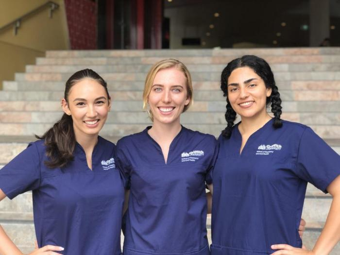 Griffith Dental Health Science Student